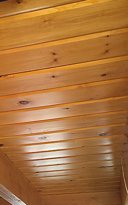 "WIDE PLANK Premium 2 x 8 inch V Groove Flooring Siding Ceiling Wall in 1"" and 2"" Pine"